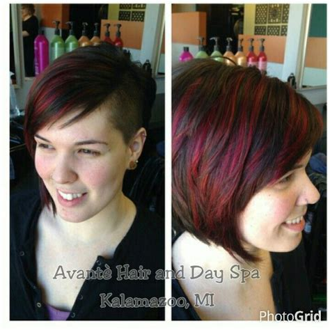 haircuts kalamazoo 1000 ideas about red violet highlights on pinterest