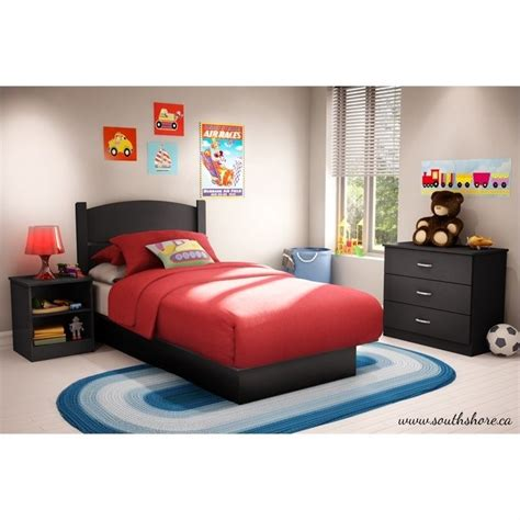 kids bedroom in a box south shore libra twin 3 piece bedroom in a box in pure