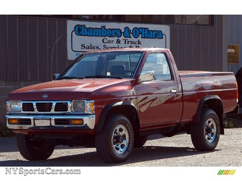 1995 nissan truck 1995 nissan hardbody truck xe regular cab 4x4 in cherry
