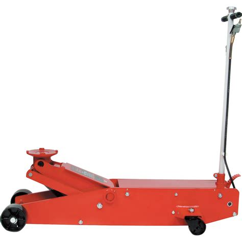 blackhawk automotive  ton air actuated service floor jack model bh northern tool