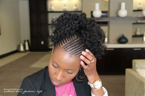 cornrow and twist hairstyle pics watch me style tiny cornrows a twist out