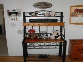 Corner Wrought Iron Bakers Rack Bakers Racks For Kitchens Wooden Bakers Rack Kitchen