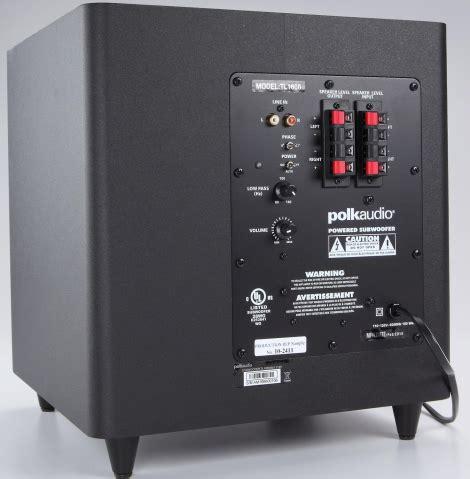 polk audio blackstone tl home theater speaker system