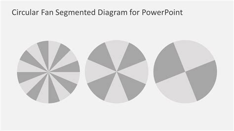 4 step segmented circular diagrams for powerpoint slidemodel free circular segmented fan diagram powerpoint template