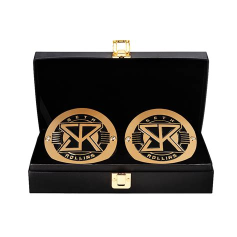 Wwe Shop Gift Card - seth rollins wwe world heavyweight chionship replica title side plate box set wwe us