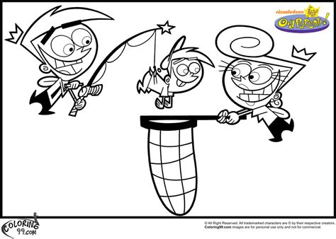 Fairly Odd Parents Coloring Pages Minister Coloring The Fairly Oddparents Coloring Pages