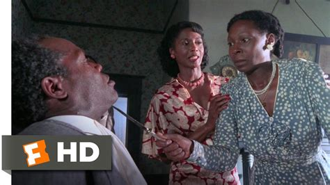 celie from the color purple the color purple 4 6 clip celie stands up to