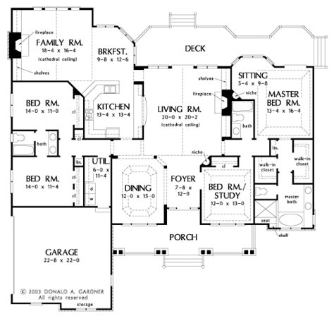 don gardner floor plans ecohouseplans com the edgewater house plan by donald a