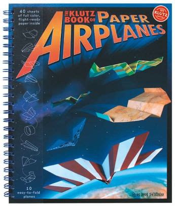 klutz book of paper airplanes 9781570548307 item barnes noble 174