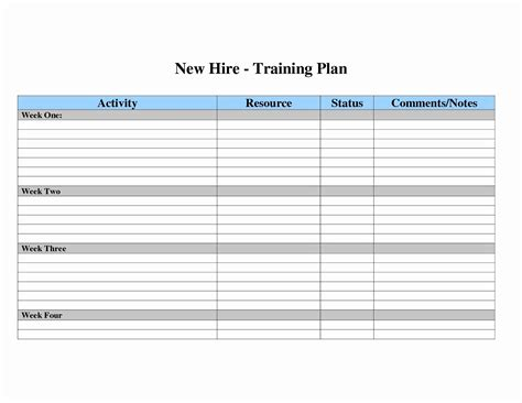 workout plan sheet templates instathreds co