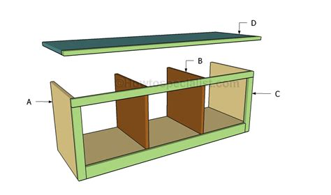 tree bench plans hall tree bench plans howtospecialist how to build