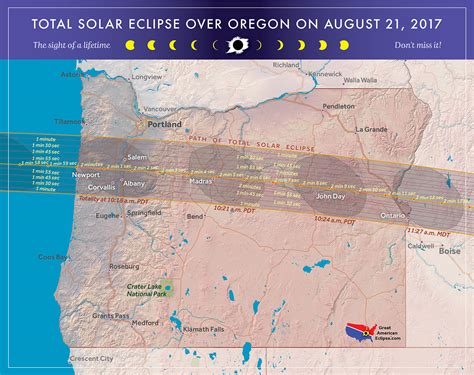map of oregon total eclipse cliff mass weather and climate the august 21st total
