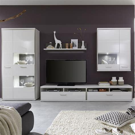 living room furniture white gloss libya living room set 4 in white high gloss with led