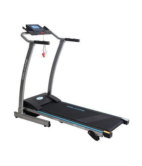 welcare motorised treadmill buy at best price on