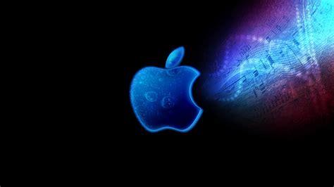 wallpaper apple neon uhd 4k apple logo music chords 1421