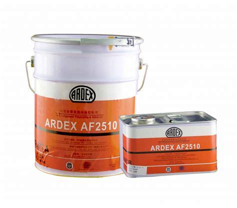 ardex af   component polyurethane adhesive