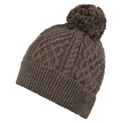 Classic Knit Brown s classic brown cable knit beanie pretty you
