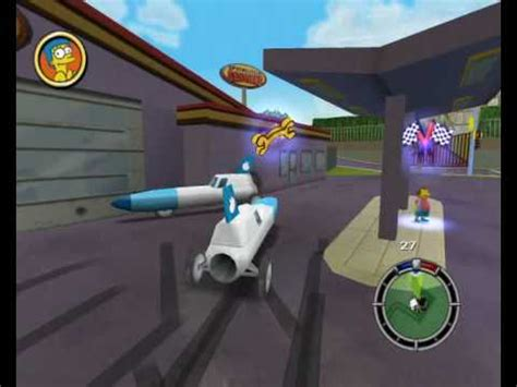 Get Simpsons Rocket simpsons hit run glitch rocket car hq