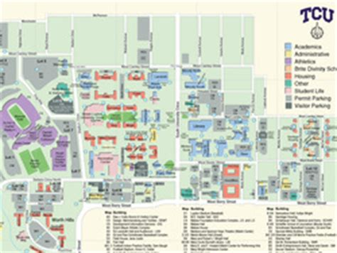 texas christian university map tcu cus map www pixshark images galleries with a bite
