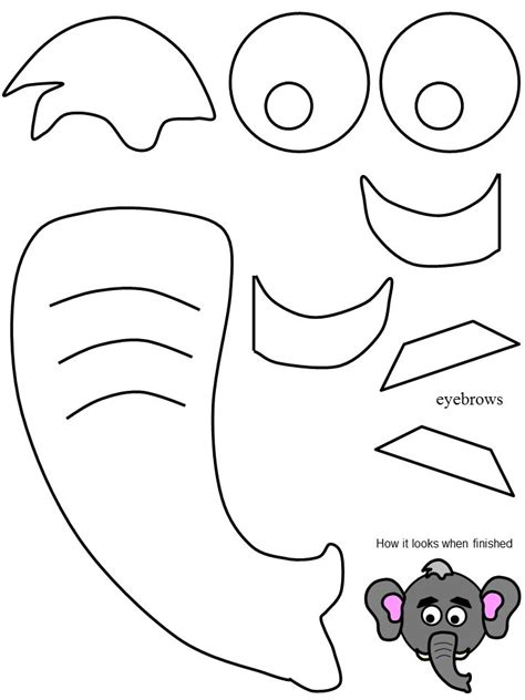 elephant mask coloring pages 12 best images about elephant costume on pinterest