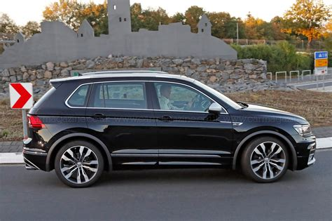 volkswagen tiguan r line the best all rounder around vw tiguan r spotted car