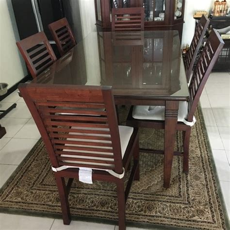 Dining Chairs For Sale Singapore by Teak Dining Table 6 Teak Chairs For Sale In Singapore