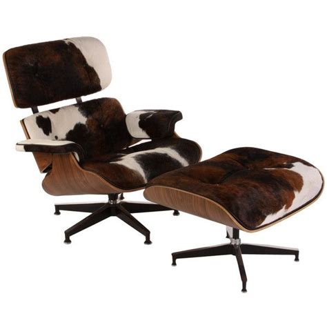 cowhide chair and ottoman cowhide eames lounge chair check now