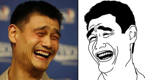Yao Ming Face Meme - yao ming meets the yao ming meme si com