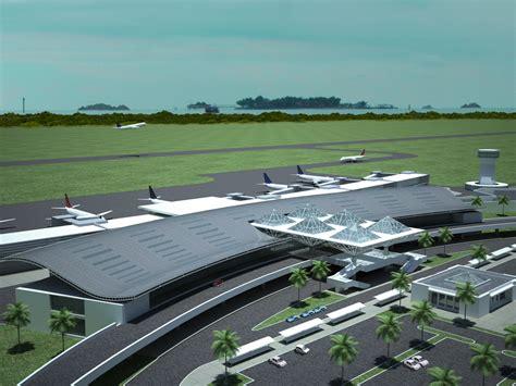 layout bandara adi sucipto new airport masterplan design rendering part 2