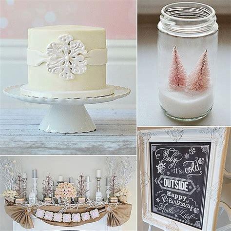 winter 1st birthday centerpieces best 25 winter birthday ideas on