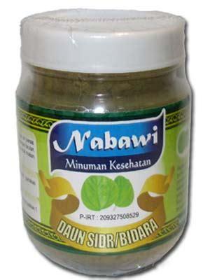 Obat Herbal Serbuk Daun Bidara serbuk daun bidara sidr nabawi an nur griya herbal azka