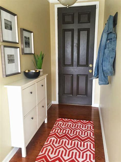 big green door entryway makeover ideas
