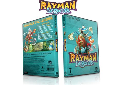 rayman legends xbox 360 cover rayman legends xbox 360 box art cover by jack75