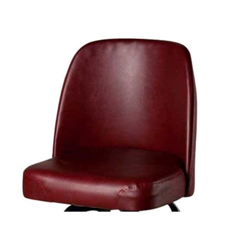 Replacement Bar Stool Seats by Replacement Bar Stool Seat Style Vinyl Wine