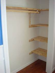 clothes closet closet shelving with clothes rod