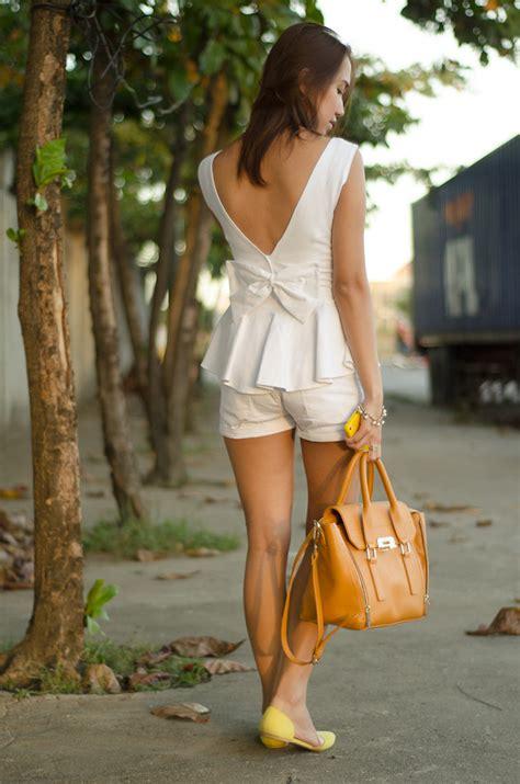 Glr 333 Backbow Top toni pino oca stylestunnermanila v cut bow back peplum top charles keith handbag forever