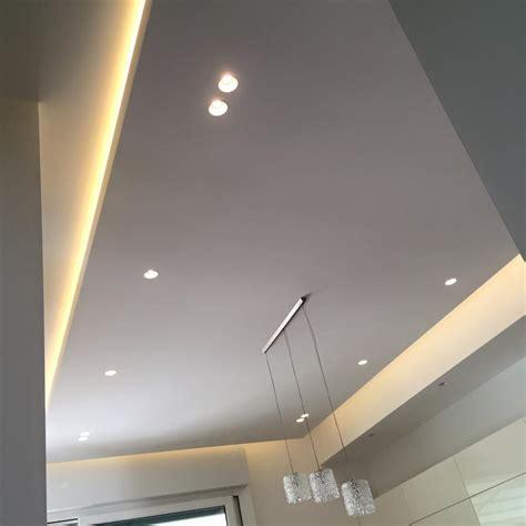 abbassamento soffitto in cartongesso con faretti cartongesso faretti led per cucina edile cartongesso