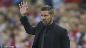 diego simeone hairstyle diego simeone reduced to tears as his three sons send