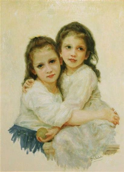 by william bouguereau two sisters walshe declan 3 artworks mutualart