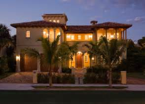 Fountains For Home Decor Mediterranean Villa Mediterranean Exterior Miami