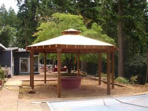 gazebo plans with pit pit design ideas