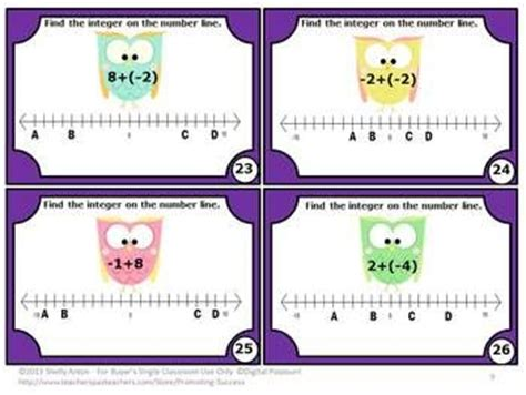 printable negative numbers games pinterest the world s catalog of ideas