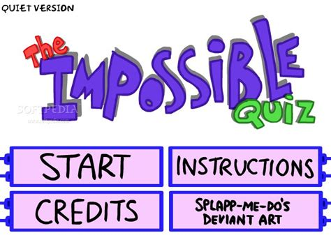 theme impossible quiz the impossible quiz download