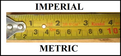 metric vs imperial metric or imperial i spilled the beans