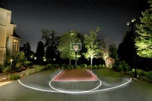 Remodeling Backyard Outdoor Basketball Court Landscape Modern With Basket Ball