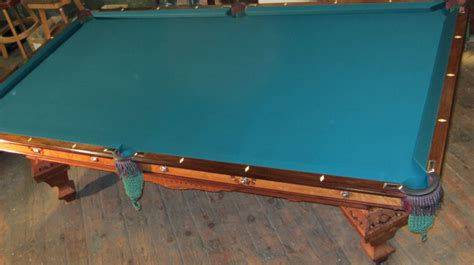 brunswick masterpiece pool table lot detail brunswick antique 1880 s pool table the