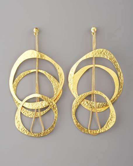 Multi Circle Earring herve der straeten multi circle earrings