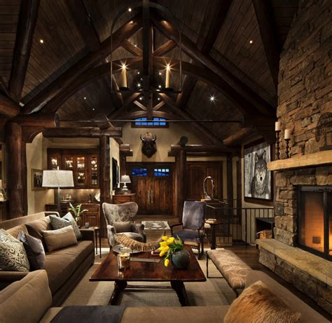 mountain home interior design ideas exquisite mountain home remodel mixes rustic with modern