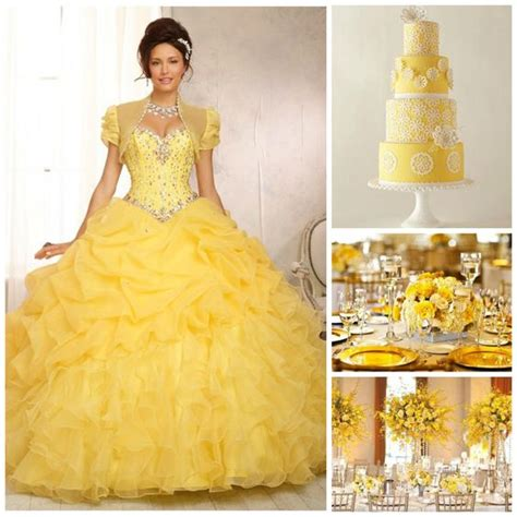 Quinceanera Themes Yellow | quince theme decorations quinceanera ideas yellow and ideas
