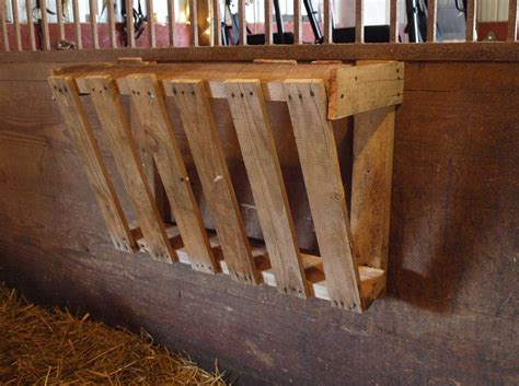 How To Make A Hay Rack by Ohio Thoughts Easy Hay Feeder